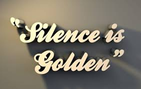 short paragraph essay on silence is golden silence is golden