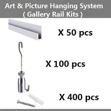 free shipping art hanging hardware picture hanging systems wall mounted rail gallery on wall art hanging hardware with free shipping art hanging hardware picture hanging systems wall