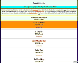 Pin By Satta Matka On Indian Main Mumbai Numbers Tips