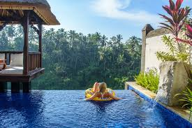 Private Pool With A View- Viceroy Hotel, Bali www.theroadlestraveled.com