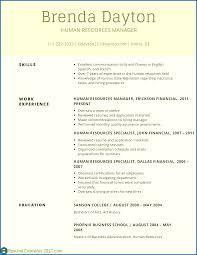 Resume Template Resume Skills Examples Sample Resume Template
