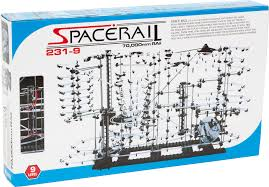 spacerail advanced steel marble ball high sd coaster run diy kits level 9