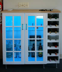 wall cabinet wine shelf and glass doors ikea with not lining up rack