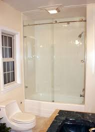 simple affordable shower enclosure orange county clear glass bathroom