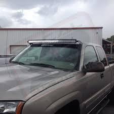 light bar roof mount brackets for 50\