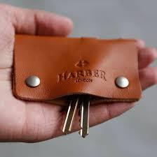leather key holder case
