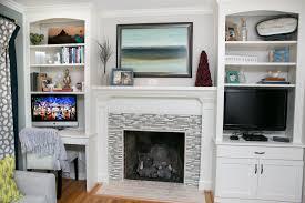 Living Room Built In Living Room Office Combination Built In Bookshelves Desk Tv