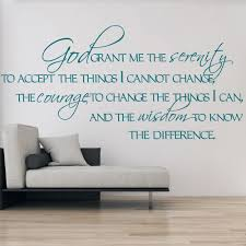 on serenity prayer wall art uk with god grant me the serenity wall sticker religious wall art
