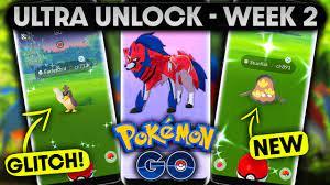 ULTRA UNLOCK - PART 3 | WEEK 2 in POKEMON GO | ZAMAZENTA ANALYSIS &  RESEARCH TASK GLITCH! - YouTube