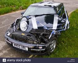 Sport Series mini cooper bmw : BMW Mini Cooper after crash accident Stock Photo: 19921931 - Alamy