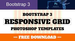 Responsive Web Design Grid Photoshop Bootstrap 3 Responsive Grid Photoshop Templates Psd Ben
