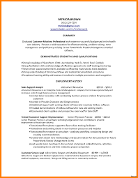 Summary Examples For Resume Customer Service Customer Service Summary Example Resume Summary for Customer Service 53