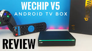 WeChip V5 Android TV Box REVIEW - Amlogic S905X, 2GB RAM, 16GB ROM - YouTube
