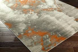 navy and grey area rug orange and grey rug incredible how to set a orange and