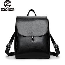 Fashion Women <b>Backpack</b> High Quality Youth Leather Backpacks ...