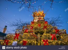 Falmouth Ma Christmas Tree Lighting Usa New England Massachusetts Cape Cod Provincetown