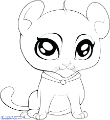 Coloring Pages Cute Baby Animals Cute Baby Animals To Color Baby