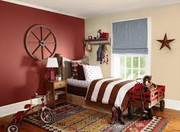 maroon and white bedroom.  Maroon Beautiful Maroon And White Walled Cowboyu0027s Bedroom For And N