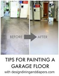 garage floor paint before and after. Contemporary After Before And After Picture Of Painted Garage Floor For Garage Floor Paint Before And After True Value Projects