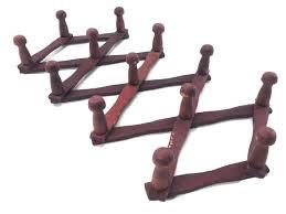 Trellis Expandable Coat Rack Best Expandable Coat Rack Hook Rustic Gray Wood Expandable Accordion Peg