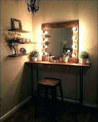 Vanity table lighting Lighted Mirror Related Post Banota Vanity Table Lighting Chic Inspiration And Mirror With Lights Best