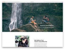 Photography Websites Templates 24 Best Free Photography Website Templates For Professionals UiCookies 11