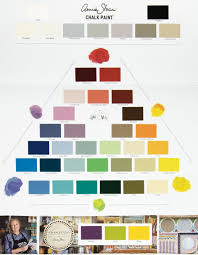 color chart color chart painted chalk paint by annie sloan