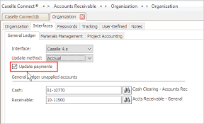 How Do I Turn On The General Ledger Interface