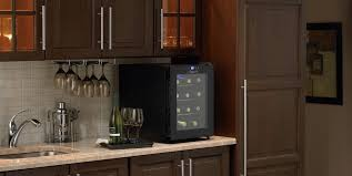 danby dwc1233bl sc 12 bottle wine cooler review for countertop remodel 7