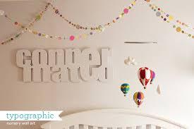 Small Picture How Joyful Blog Nursery typographic baby name wall art