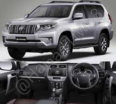 2018 toyota prado interior. wonderful interior 2018 toyota land cruiser prado front three quarters and dashboard to toyota prado interior a