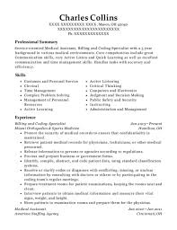 Medical Assistant Resumes Examples Fascinating Medical Assistant Resumes 28 Gahospital Pricecheck