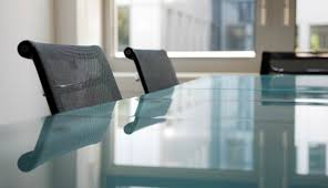 Glass tabletops can be created to provide a high end surface for a  conference room table, office desk, dining room table, or any other kind of  tabletop.