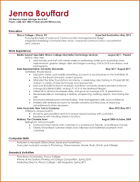 How To Make A College Resume Ingenious How To Make A College Resume 100 Current College Student 1