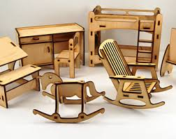 wooden house furniture. Dolls House Furniture 7 El- Barbie Twins Rooms - Accesories Wooden