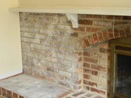 painting a fireplace whiteWhitewashed Brick