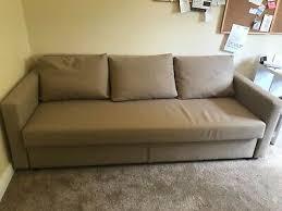 friheten ikea 3 seater sofa bed beige