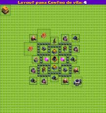 Dicas Clash Of Clans Layouts Cv Nivel 4