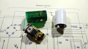 Electronics Tube Light Choke Circuit How To Repair Electronic Choke For 4 Tube Light