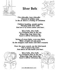 silver bells lyrics | Silver Bells : Free Printable Christmas ...