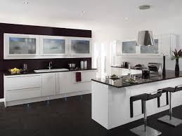 Small Picture White And Black Kitchen Ideas Simple Modern Minimalist Futuristic