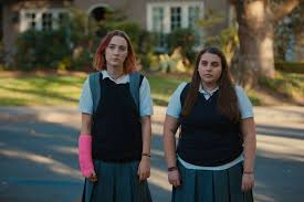 lady bird review greta gerwig s coming of age comedy is the  saoirse ronan and beanie feldstein in lady bird