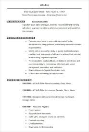 Resumes Formats Awesome Accounting Resume Templates 24 Free Samples Examples Format Within