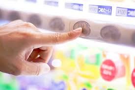 Vending Machine Selection Buttons Fascinating A History Of Vending Machines