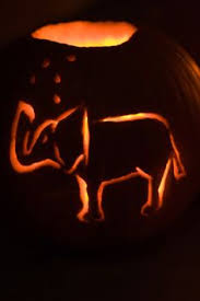 Elephant Pumpkin Carving Pattern Magnificent Elephant Pumpkin Art Ideas Pinterest Pumpkin Carving Contest