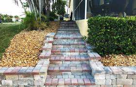 patio steps making out backyard ideas medium size paver steps unique design front paver steps ilration installation paver