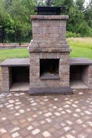 chehalis outdoor fire pit matching paver patio ajb for great fireplace pit