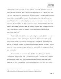 the boston massacre essay draft  1 page 1 2 jeff heilman history 1700 essay