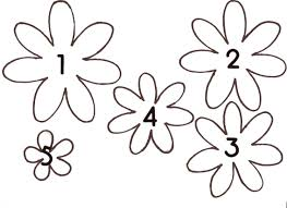 Paper Flower Template Free Free Download Paper Flower Template Top Template Collection