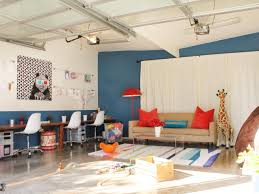 how to turn a garage into temporary bedroom designs
